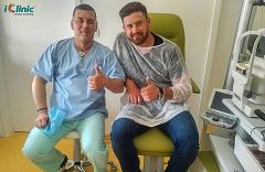 hokejista Michal Valent operace očí iClinic 1