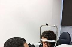 Laserová operace očí Relex Smile - kanadský hokejista Mathew Maio 3