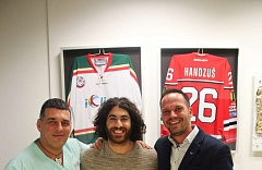 Laserová operace očí Relex Smile - kanadský hokejista Mathew Maio 11