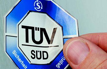 Naše klinika je držitelem TÜV certifikátu kvality