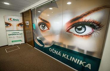 očná klinika Bratislava Aupark 10