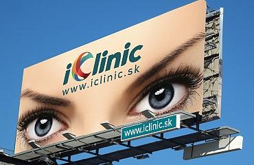 Billboard iClinic Banska Bystrica