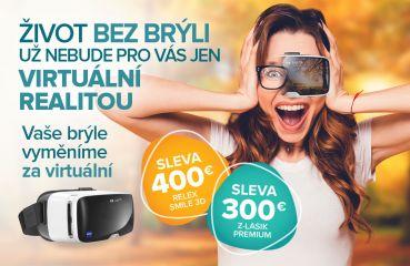 Podzimní akce na Relex Smile 3D a Z-Lasik Premium